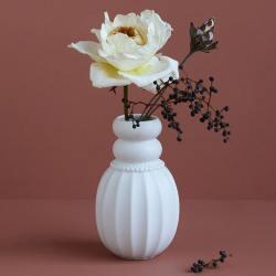 dottir design samsurium pearpuff vasen weisse white wunderschoen-gemacht