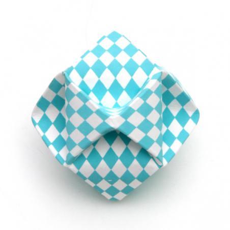 papierball, helltürkis