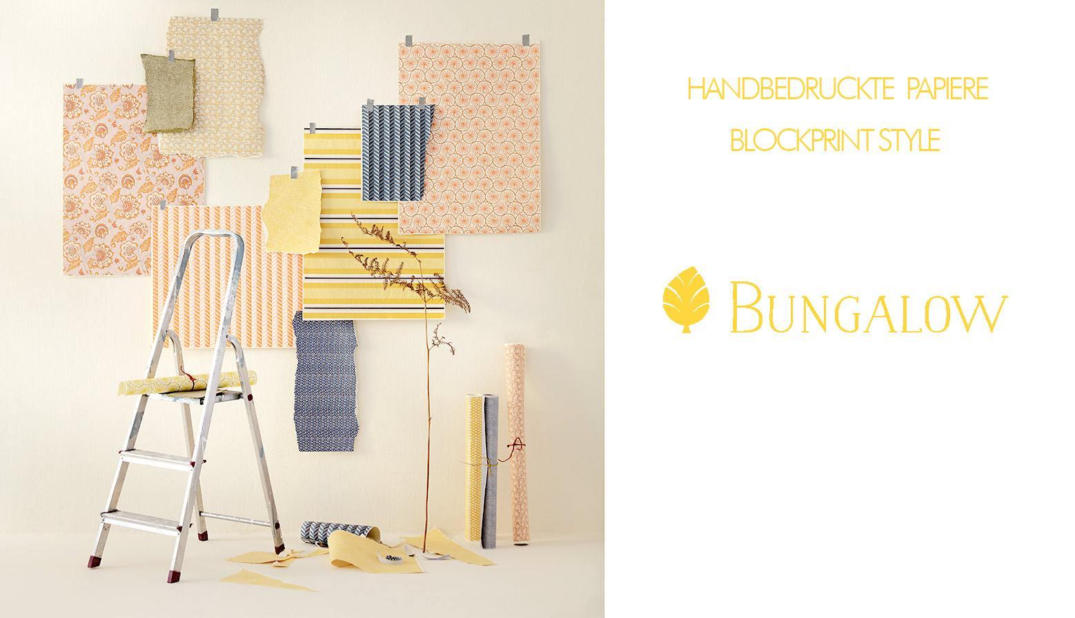 bungalow dk papiere muster wunderschoen-gemacht