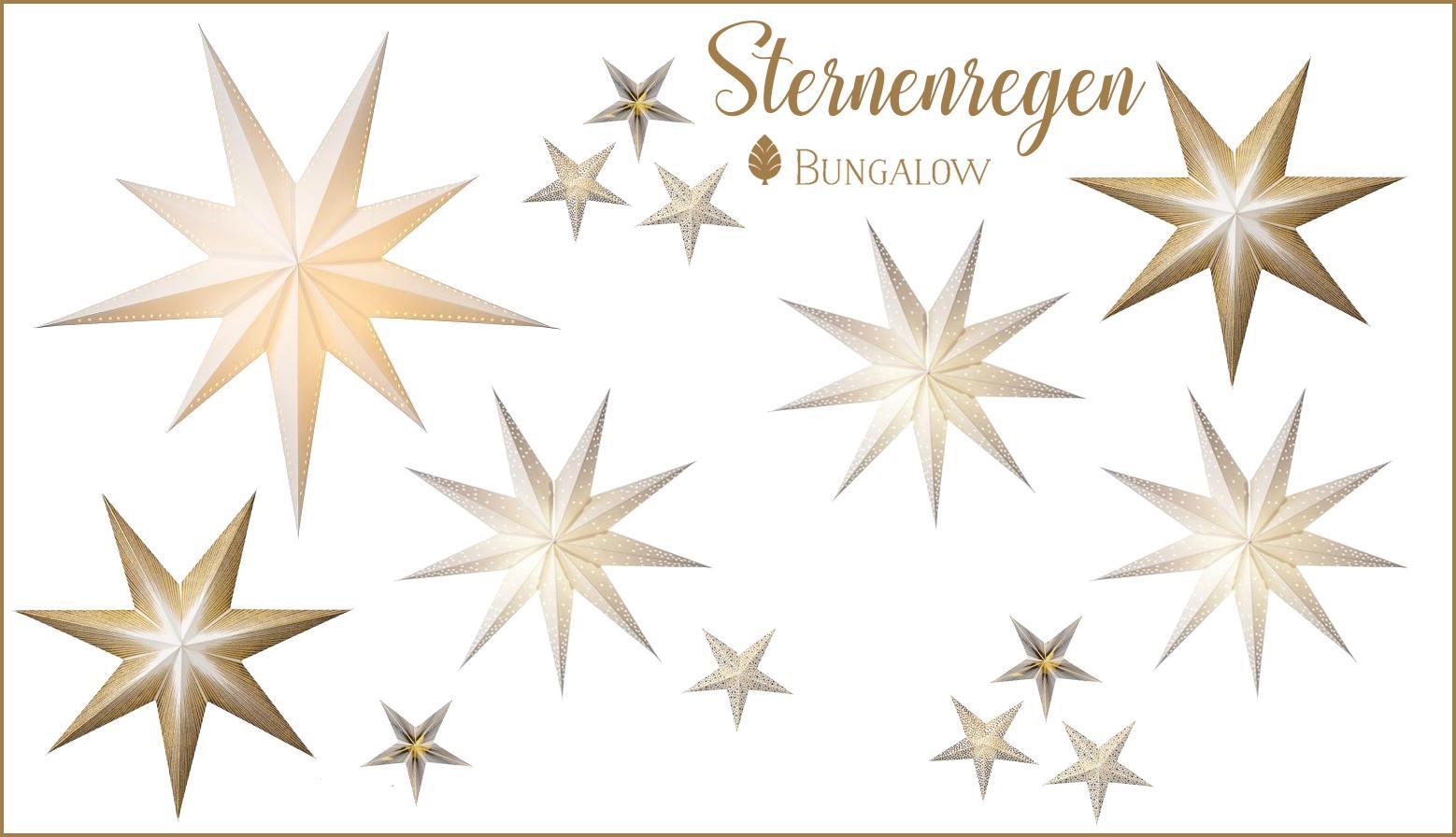 bungalow dk papiersterne wunderschoen-gemacht
