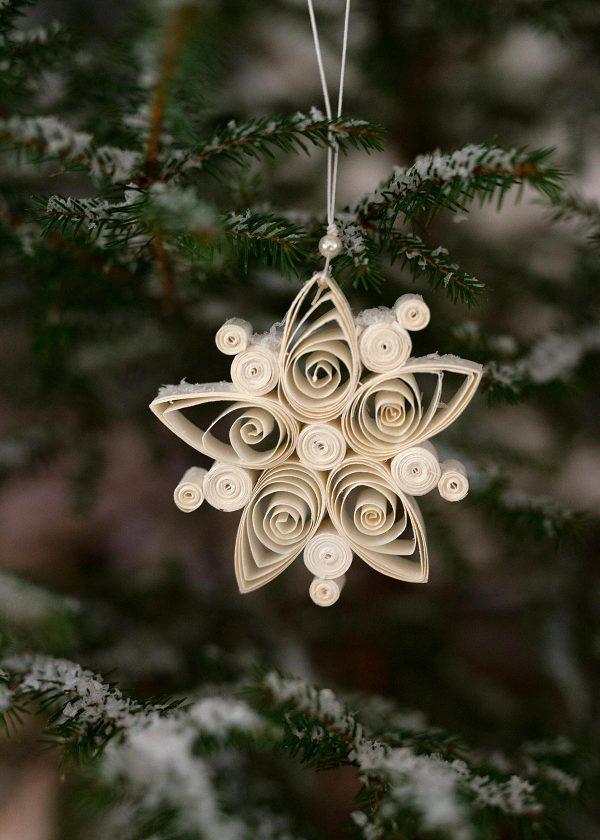 dbkd papier-ornament-kristall-flocke-regular-flake-wunderschoen-gemacht