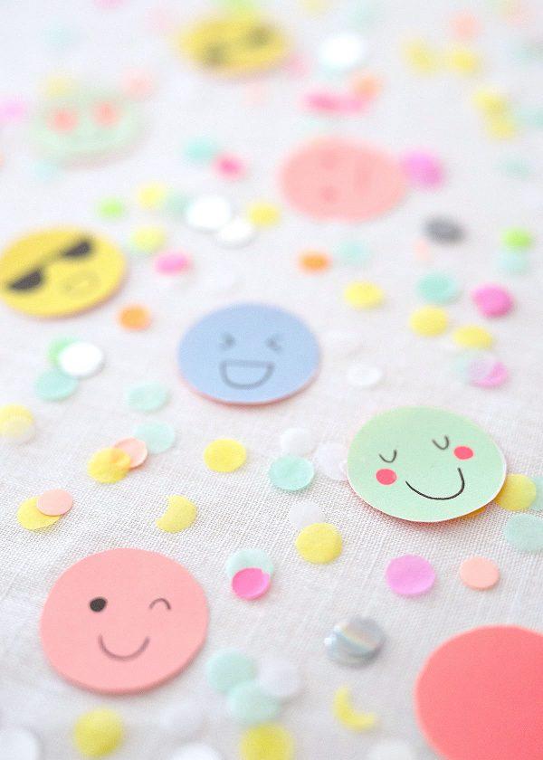 meri-meri-neon-pastell-emoji-smileys-geschenkpapier-konfetti-wunderschoen-gemacht